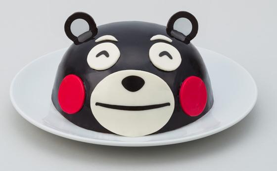 くまモンのフェイスケーキ