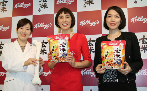 日比野佐和子先生、秋野暢子さん、五味田里美グループマネージャー