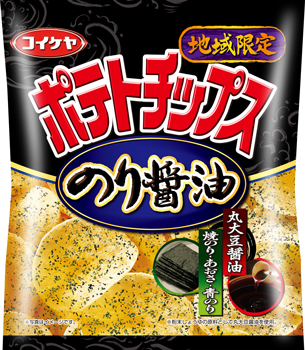 ポテトチップス のり醤油