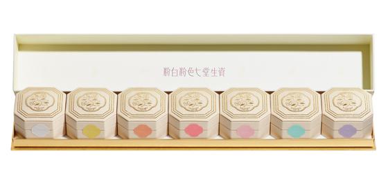 七色粉白粉 百周年記念複製版