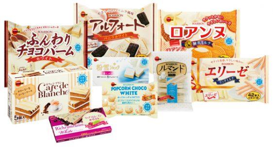 冬期限定の白いお菓子「ホワイトフェア」商品9品