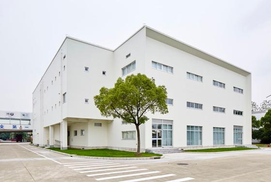 上海分公司(中国イノベーションセンター上海分公司)の新社屋