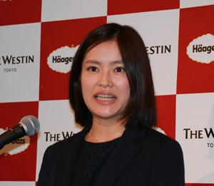 ハーゲンダッツマーケティング本部の福村沙由里氏