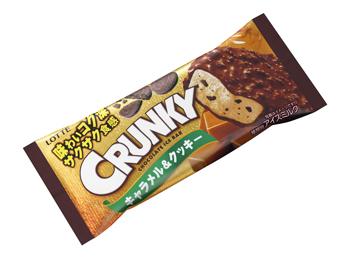 クランキーアイスバー キャラメル&クッキー