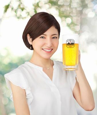 2017年のアサヒビールイメージガールに田口千晶さん