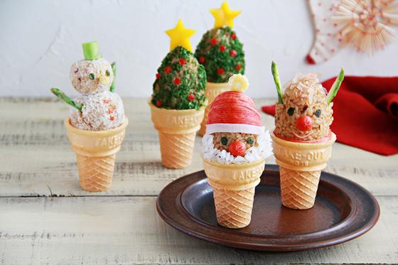 クリスマス カレーアイス