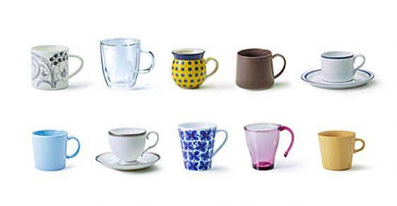 賞品イメージ(世界のコーヒーカップ)