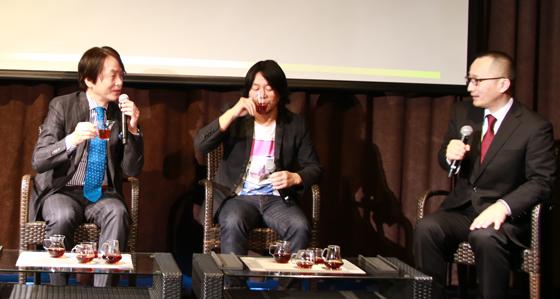 石田衣良氏、中村貞裕氏をゲストにトークセッション