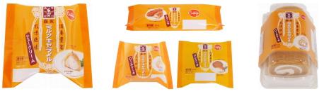 森永ミルクキャラメルの味わいを再現した洋菓子