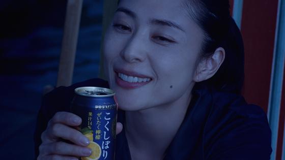 「こくしぼりプレミアム」のイメージキャラクターに深津絵里さん