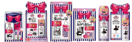 大人かわいいデザインを取り入れた殺虫剤ブランド「QunQum」