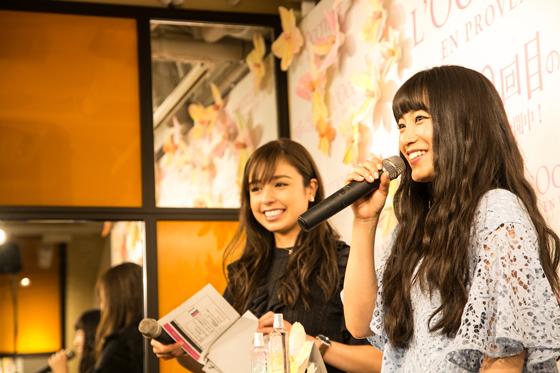 miwaさんがゲストに「チェリーブロッサム誕生10周年イベント」