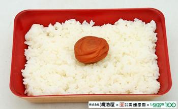 美味しい梅を食べて頂きたいご飯