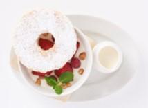ホワイトコーヒームース イチゴのミルフィーユ仕立て