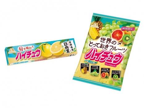 ハイチュウ 宮崎県産日向夏、世界のとっておきフルーツハイチュウアソート