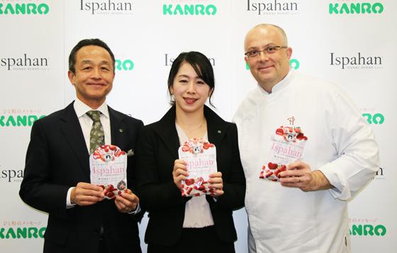 三須和泰社長、坂東美紀さん、ルデュ・リシャール社長