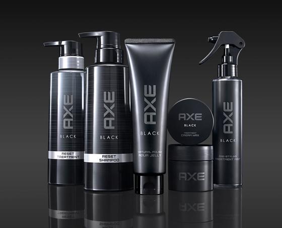 アックス ブラックからスタイリング3製品とヘアケア2製品