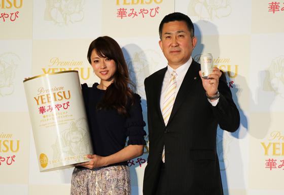 深田恭子さんと高島英也社長