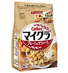 20170524calbee - カルビー/フルグラからドライフルーツを使わないプレーン味のグラノーラ「マイグラ」