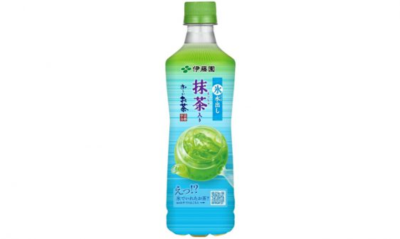 伊藤園/お茶の甘みが引き立つ「氷水出し 抹茶入り お~いお茶」