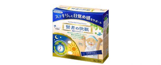 大塚製薬/スッキリした目覚めをサポートする機能性表示食品「賢者の快眠 睡眠リズムサポート」