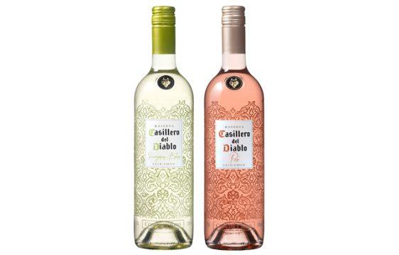 メルシャン/夏限定「カッシェロ・デル・ディアブロ」から植物をデザインした透明ボトル