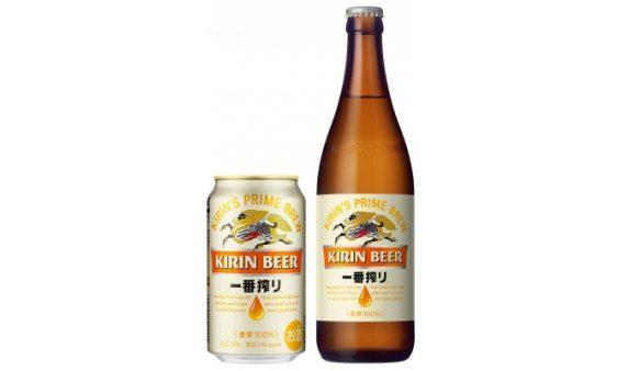 キリン/麦のうまみアップ「一番搾り生ビール」リニューアル