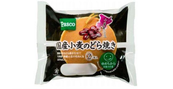敷島製パン/北海道十勝産小豆を使用「国産小麦のどら焼き」