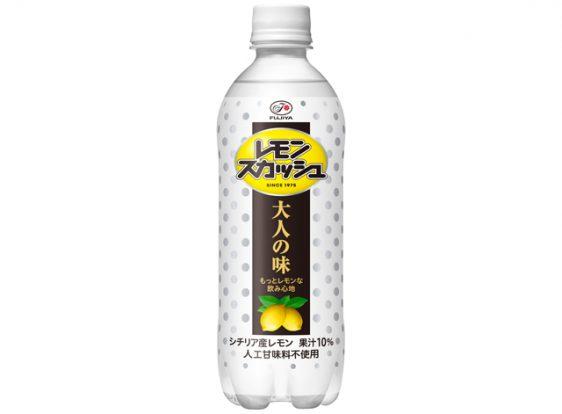 不二家/果汁感をアップ「レモンスカッシュ 大人の味」