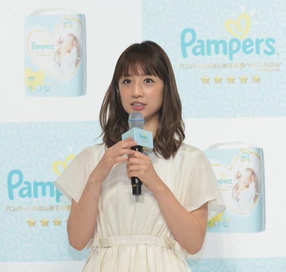 「肌へのいちばん」やさしさ体験イベントの小倉優子さん
