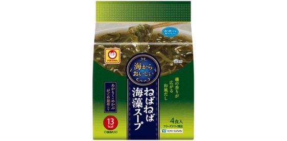 東洋水産/あかもく、めかぶ、がごめ昆布入り「海からおいしい ねばねば海藻スープ」