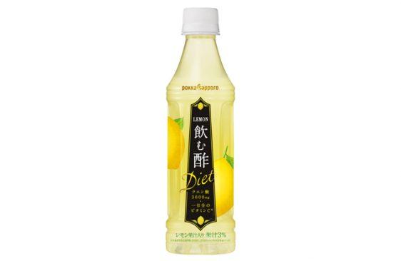 ポッカ/レモン酢を飲みやすく仕上げた「LEMON飲む酢ダイエット」