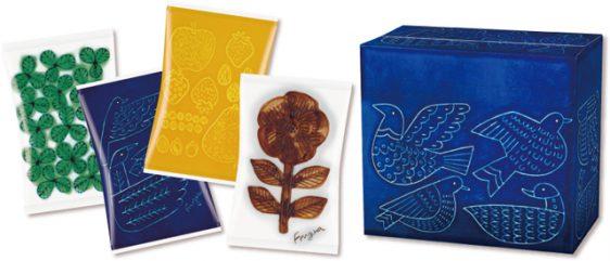 カルビー/波佐見焼のデザイン取り入れたLOHACO限定「フルグラデザインBOX」